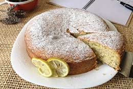 Chía- Lemon Tea Cake