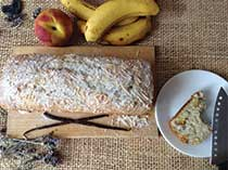 Coco Peach-Banana Loaf