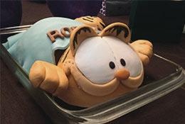 Pastel de Garfield
